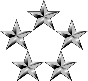 líderes 5 estrelas